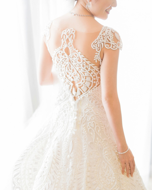 Simple Wedding Dresses Philippines: Lovely Wedding Gown Back Designs